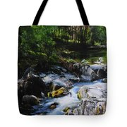 River In Wales Tote Bag