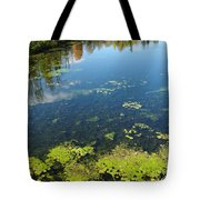 River Water Pollution Tote Bag