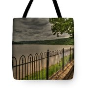 Riverside Walk Tote Bag