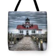 Roanoke Marshes Lighthouse, Manteo, North Carolina Tote Bag