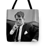 Robert Kennedy  Tote Bag by War Is Hell Store