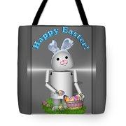 Robo-x9 The Easter Bunny Tote Bag