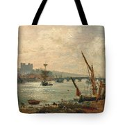Rochester Cathedral And Castle Tote Bag