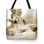 Rock Formation, Garden Of The Gods, 1915, Vintage Photograph Tote Bag