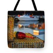 Rockport Ma Lobster Traps Tote Bag