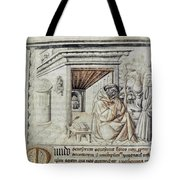 Roger Bacon (1214?-1294) Tote Bag