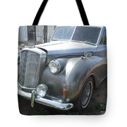 Rolls Royce Silver Wraith Tote Bag