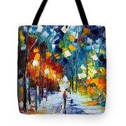 Romantic Winter Tote Bag
