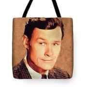 Ron Hayes, Vintage Actor Tote Bag