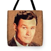 Ron Hayes, Vintage Actor Tote Bag