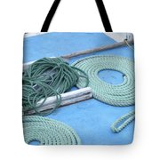 Ropes And Bolt Hook Tote Bag
