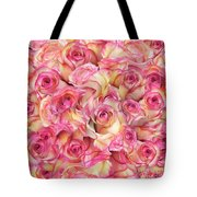 Roses Background Tote Bag