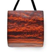 Rosy Sky Tote Bag by Michal Boubin