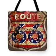 Route 66 T-shirt Tote Bag