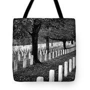 Rows Of Honor Tote Bag