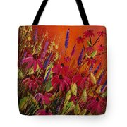 Rudbeckias And Lyatris Tote Bag