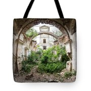 Ruins Of The Church Of St Wenceslas Tote Bag