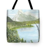 Rundle From Banff Tote Bag