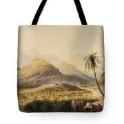 Rural Indian Landscape Tote Bag