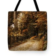 Rural Road Tote Bag