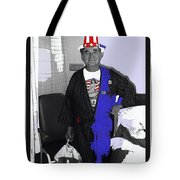 Russell Short Celebrating July 4th Tucson Medical Center 1990-2008 Tote Bag