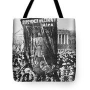 Russia: Revolution Of 1917 Tote Bag