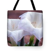 Sacred Datura Photograph Tote Bag