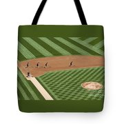 Safeco Field Abstract Patterns With Ground Crew Tote Bag