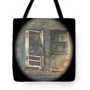 Sagging Door Lordsburg New Mexico 1968-2012 Tote Bag