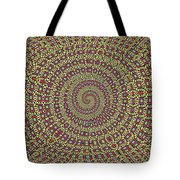 Saguaro Forest Abstract #2 Tote Bag
