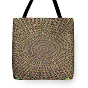 Saguaro Forest Abstract Tote Bag