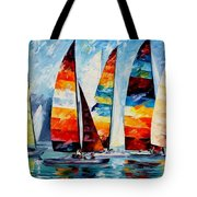Sail Regatta Tote Bag