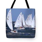 Sailboat Championship Racing Tote Bag