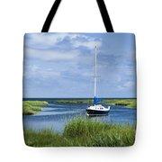 Sailboat Salt Marsh Tote Bag