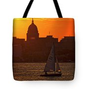 Sailing - Lake Monona - Madison - Wisconsin Tote Bag