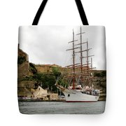 Sailing Ship Tote Bag