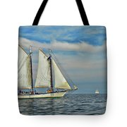 Sailing The Open Seas Tote Bag