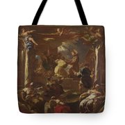 Saint Anthony Of Padua Restores The Foot Of A Man Tote Bag
