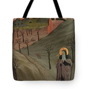 Saint Anthony The Abbot In The Wilderness Tote Bag