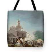Saint Isidore's Day At The Saint's Hermitage Tote Bag