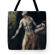 Saint Jerome Tote Bag
