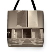 Saint Mary's Cathedral Of San Francisco Tote Bag