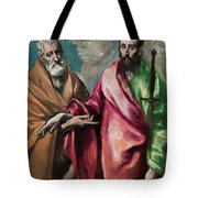 Saint Peter And Saint Paul Tote Bag