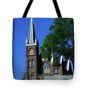 Saint Peter's Roman Catholic Church In Harpers Ferry Tote Bag