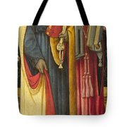 Saints Peter And Jerome Tote Bag