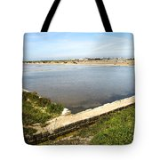 Salt Marshes - Trapani Salt Flats Tote Bag