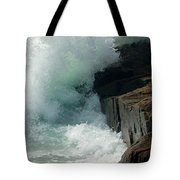 Salty Froth Tote Bag