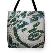 Samson - Tile Tote Bag