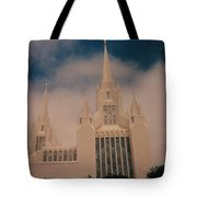 #1 San Diego Temple Tote Bag