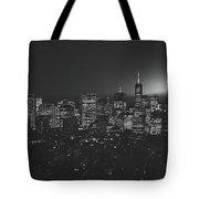 San Francisco At Sunset Tote Bag